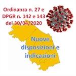 REGIONE MARCHE: Ordinanza e Decreti per regolamentare varie attività nel periodo di pandemia