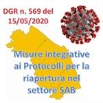 Misure integrative nel Settore Somministrazione di Alimenti e Bevande (SAB) per la prevenzione del contagio da virus SARS-CoV-2