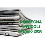 Rassegna ARTICOLI pubblicati a Maggio 2020