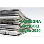Rassegna ARTICOLI pubblicati a Luglio 2020