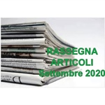 Rassegna ARTICOLI pubblicati a Settembre 2020