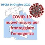 Nuovo DPCM 24 Ottobre: ulteriori limitazioni per le attività di vendita e somministrazione di alimenti e bevande