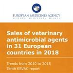 Rapporto ESVAC sulla vendita di antibiotici veterinari - Anno 2018