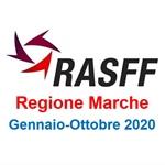 Notifiche RASFF nella REGIONE MARCHE, Rendicontazione Gennaio-Ottobre 2020