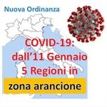 Nuova suddivisione in fasce per le Regioni italiane