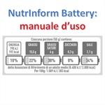 NutrInform Battery: pubblicato il manuale d'uso
