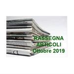 Rassegna ARTICOLI pubblicati ad Ottobre 2019