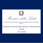 Vigilanza e controllo degli alimenti e delle bevande in Italia Anno 2018