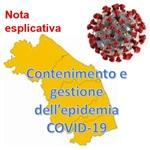REGIONE MARCHE: indicazioni e chiarimenti sull'emergenza COVID-19