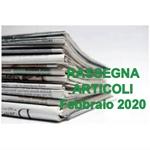 Rassegna ARTICOLI pubblicati a Febbraio 2020