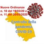 REGIONE MARCHE: nuove ordinanze per il controllo della pandemia COVID-19